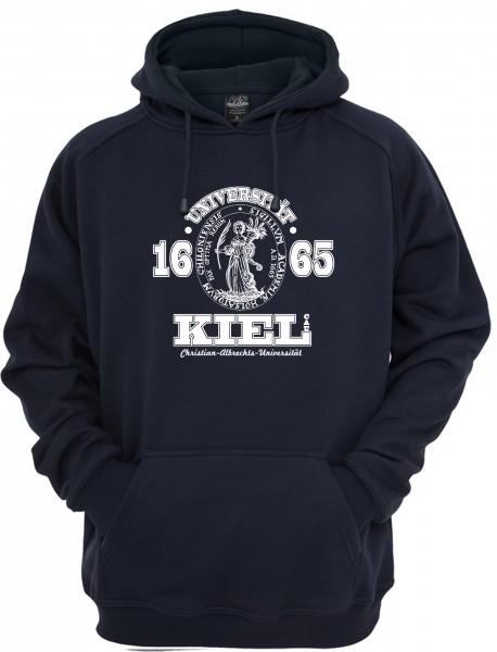 Kapuzensweater Siegel navy