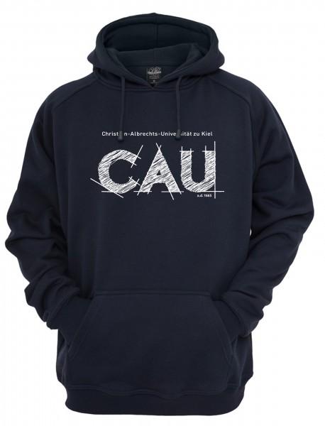 Kapuzensweater CAU navy