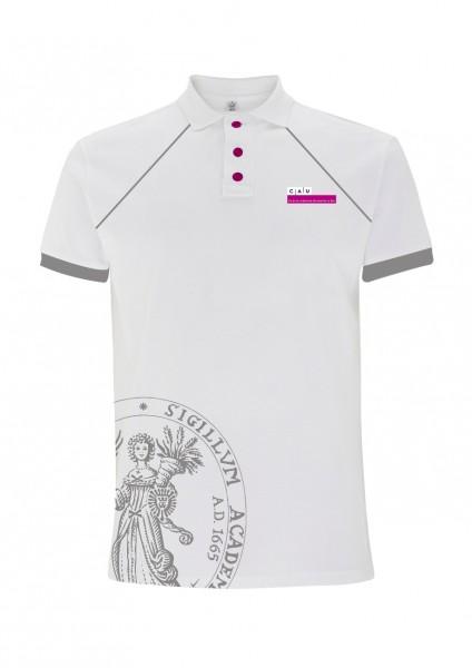 Polo-Shirt Herren grau