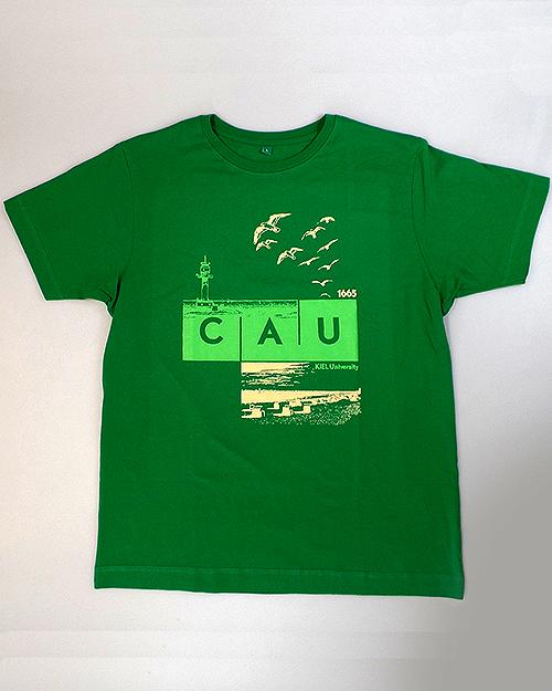 T-Shirt CAU maritim Herren grün   Herren   Webshop der Christian ... 96b01f6969