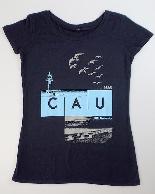 T-Shirt CAU maritim Damen navy   Damen   Webshop der Christian ... 29d15a1a71