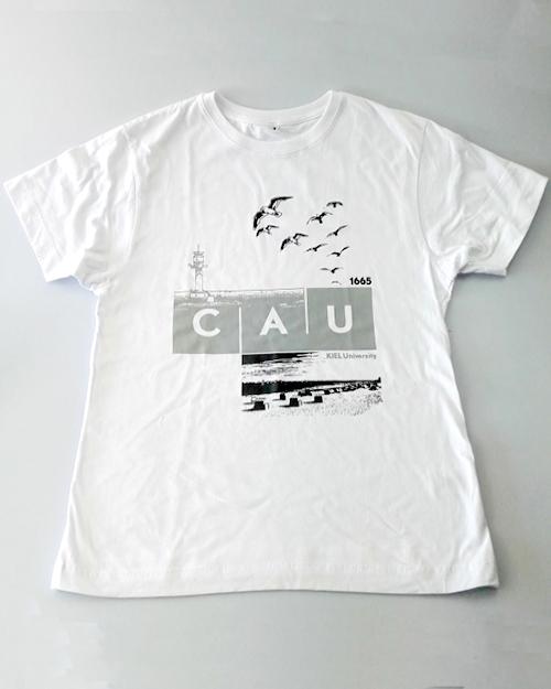 T-Shirt CAU maritim Herren weiß   Herren   Webshop der Christian ... 4a6d138d5b