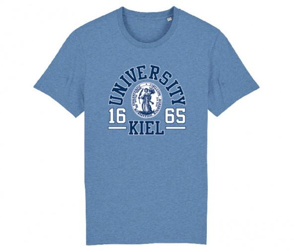 Herren T-Shirt College Denim