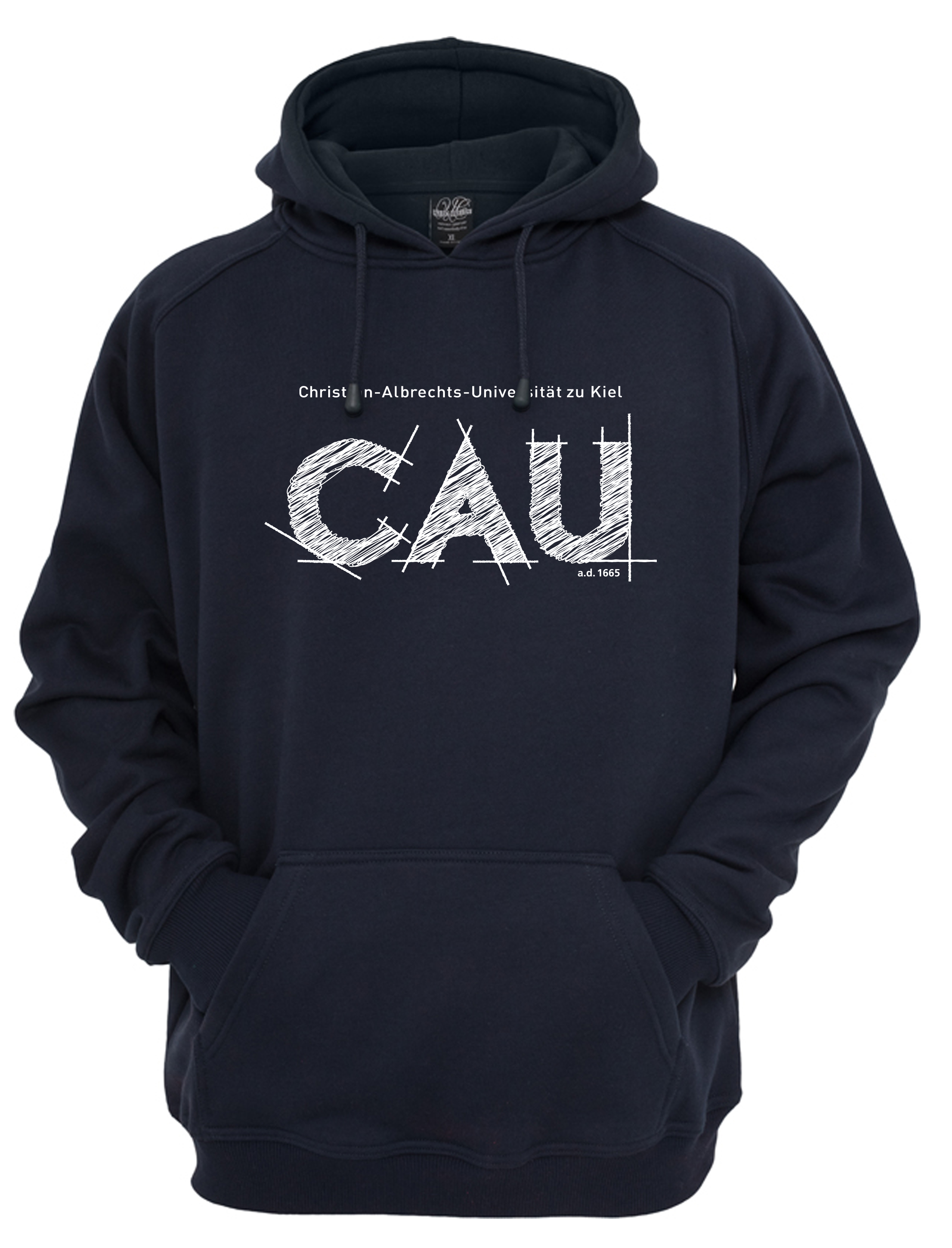 Kapuzensweater CAU navy   Damen   Webshop der Christian-Albrechts ... f94d0729d7