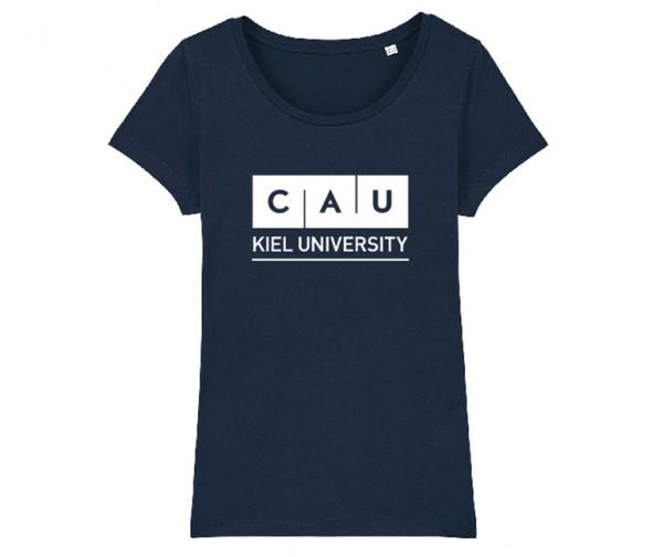 Damen T-Shirt Classic Navy