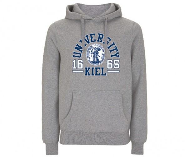 Unisex Kapuzenpullover College Grey